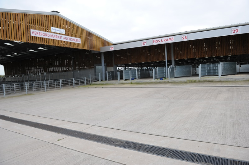 Loading bays and livestock penning