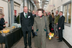 The new Hereford Livestock Market was officially opened by HRH the Princess Royal